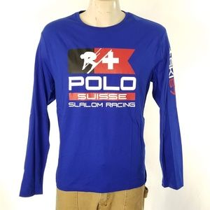 Polo Ralph Lauren Ski T Shirt Long Sleeve